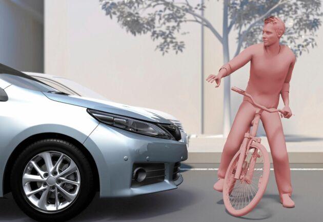 Autobromssystem bromsar bilen när du inte hinner reagera själv.