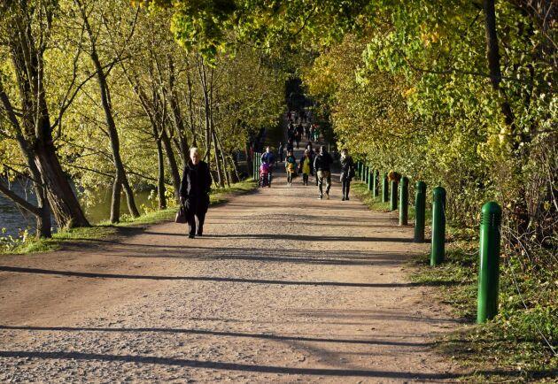 Jasnaja Poljana Gardens i Tula, 20 mil söder om Moskva. Här levde Leo och Sofia Tolstoj.