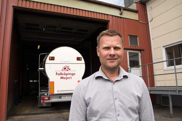 Anders Segerström, vd Falköpings Mejeri.