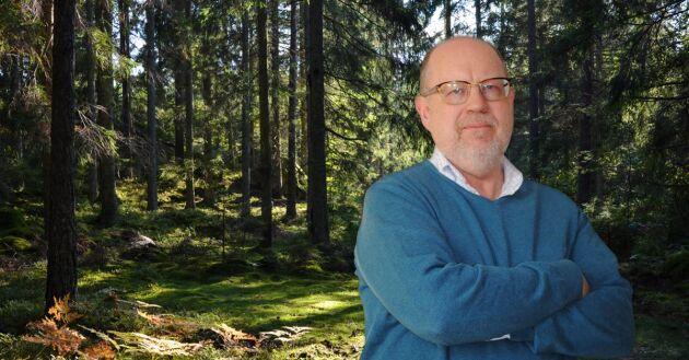 Det är svårbegripligt hur skogen som är ett av de viktigaste medlen i klimatomställningen har blivit ett problem, skriver Knut Persson i veckans ledare.