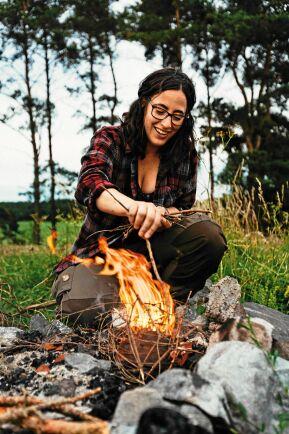 Angeliqa Mejstedt har alla vandringsälskares drömjobb – hon vandrar och bloggar om vandring på heltid!