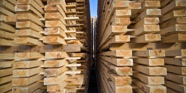 Uppåt för trävaruexporten