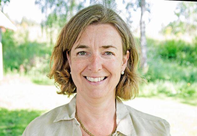 Marie Lönneskog Hogstadius, verksamhetledare Svenska ägg.
