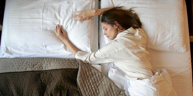 Sömnforskaren: Sova isär är mycket bättre för sömnen
