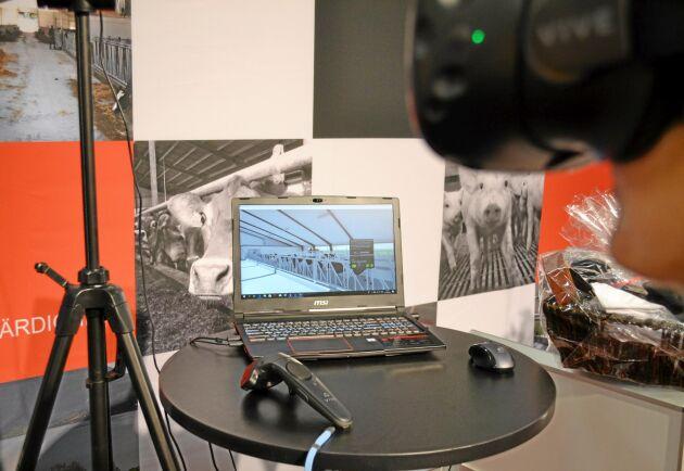 VR vid framtidens byggplanering.