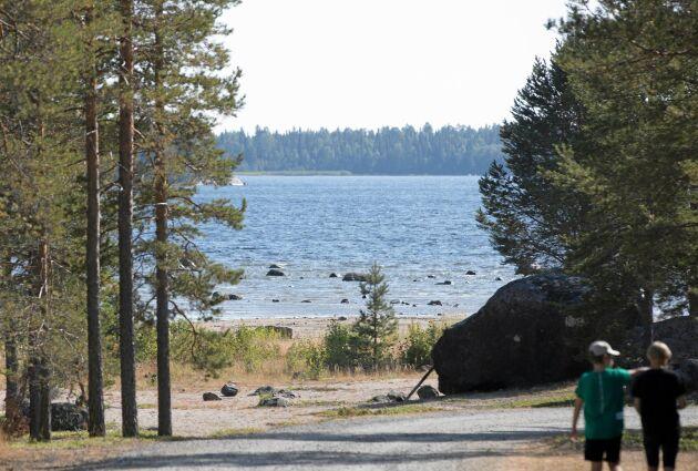 I dag kan de som gästar det lilla havsbadet mellan Kalix och Luleå njuta av vackra vyer. Så var inte fallet för tre år sedan.