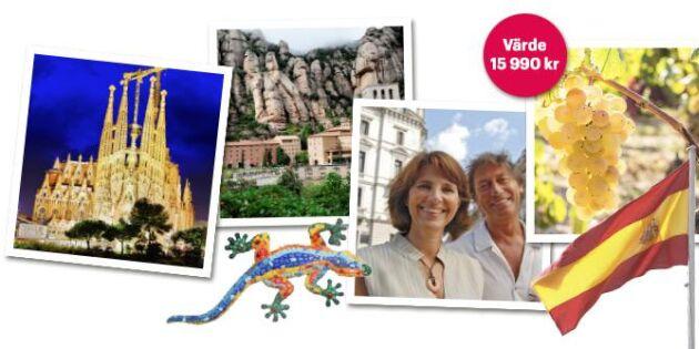Avslutad: Vinn en resa till Barcelona!