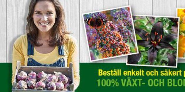 AVSLUTAD: Trädgårdsfavoriten - vinn presentkort från Bakker