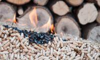 Brand i pelletslager på sågverk