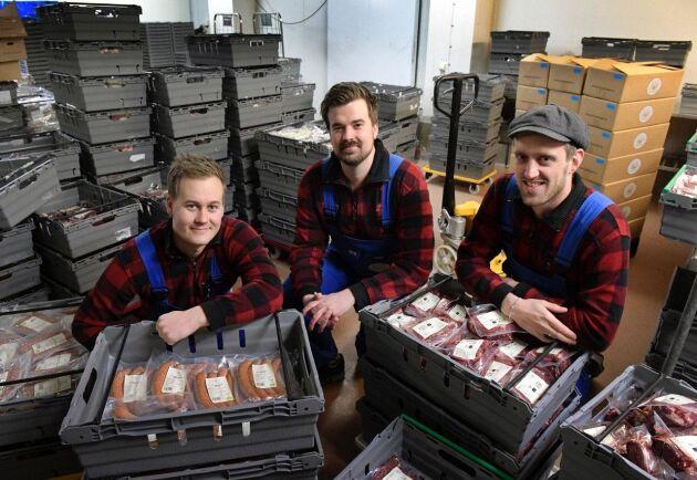 Gårdssällskapet säljer köttlådor på nätet och har 100 miljoner kronor i omsättning.
