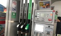 Lägsta priset på diesel på över ett år
