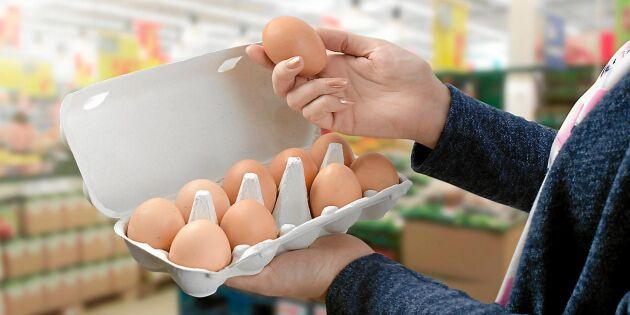 Efter torkan – nu höjs priset på ägg