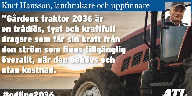 Lantbruk 2036 - Trådlös kraft till traktorn