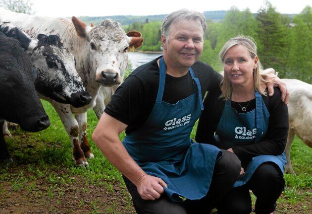 Matens ursprung är viktig för Peter och Helena Ågren.