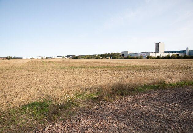 Invid ett redan befintligt industriområde i Gunnarstorp är det tänkt att anläggningen ska byggas. Här finns också plats för expansion.