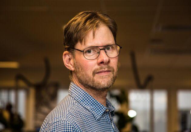 Anders Drottja, krisberedskapsansvarig på LRF, efterlyser inte direkt polisbeskydd under kosläppen, men ser gärna att polisen närvarar på evenemangen.