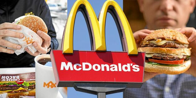 Så svenskt är köttet hos hamburgerkedjorna