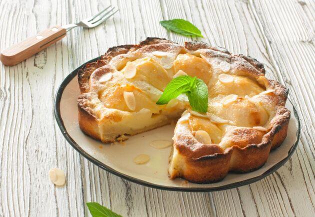 Päronpsaj är en dunderdessert till fikastunden och kaffekalaset.