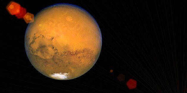 Så hittar du Mars på stjärnhimlen