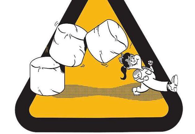 Risker som tas upp i satsningen Är du säker? är bland annat trasiga skydd vid kraftöverföringsaxlar och hantering av storbalar.