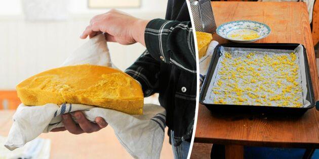 Gör egna bivaxdukar – perfekta för matförvaring!