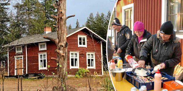 Laukers byastuga – håller liv i hela bygden