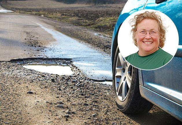 Jenny Karlsson, skogsägare och ordförande LRF Norrbotten