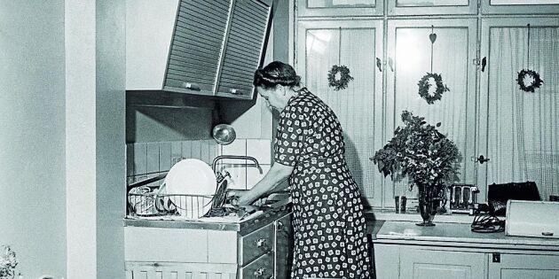 Så bodde vi på 1900-talet: Kolla in kökstrenderna från förr