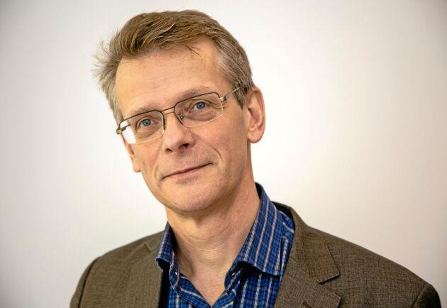 Johan Freij, affärsområdeschef på Danske Bank.