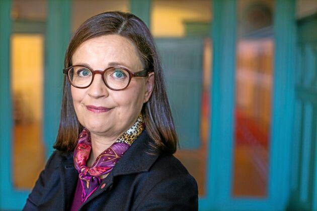 Gymnasie- och kunskapslyftsminister Anna Ekström.