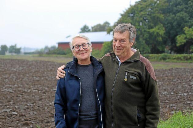 Solbönder. Katrina Birgersson och Kjell-Erik Andersson var tidigt ute med solceller och är helnöjda med investeringen.