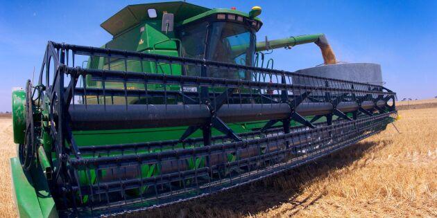 Uppsving för Australiens bönder