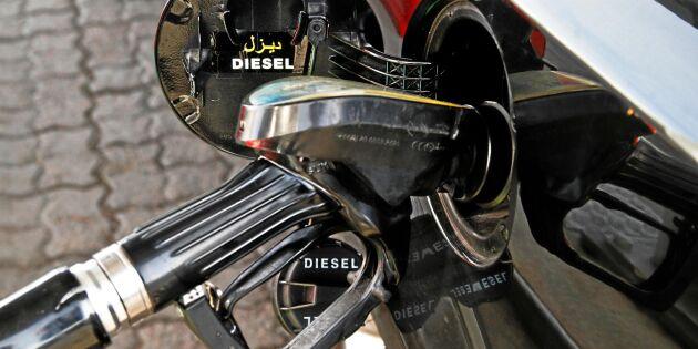 Dyrare diesel ökar intresset för bensinbilar