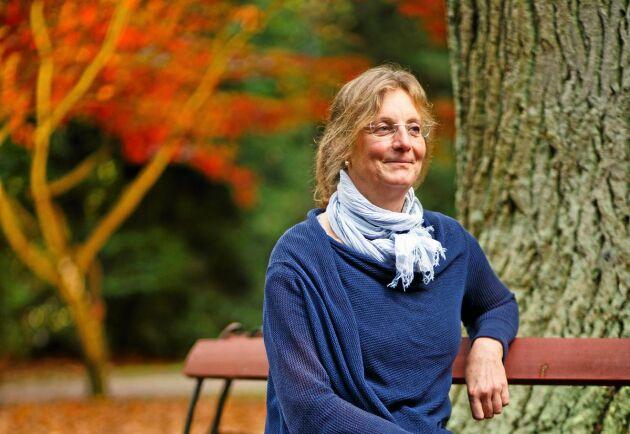 Susanna Lundqvist, projektledare för programmet Mentor på SLU Alnarp.