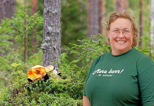 Jenny Karlsson, skogsägare, ordförande i LRF Norrbotten.