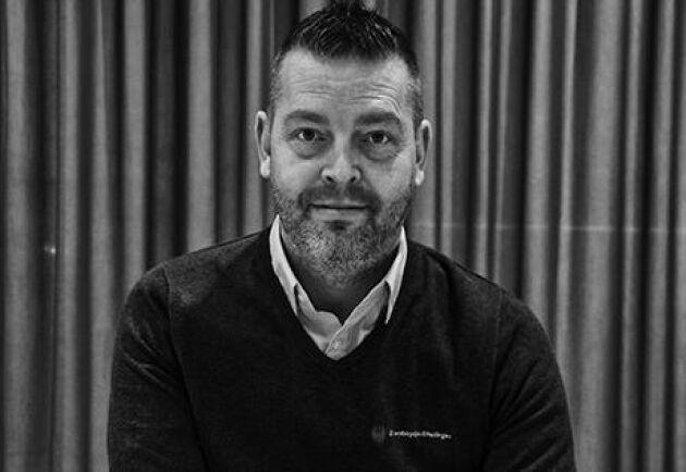 Joakim Jonsson, el-expert på Brandskyddsföreningen.