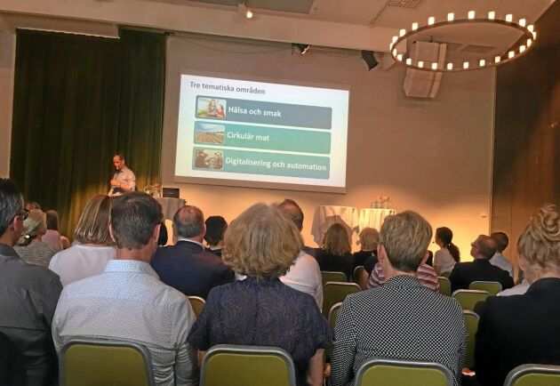 Det var fullspikat när livsmedelssektorns arena för forskning och innovation – Sweden Food Arena – lanserades i Stockholm.