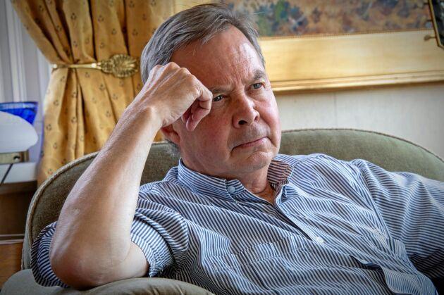 – Jag har inte begått de brott jag misstänks för, säger Karl Hedin.