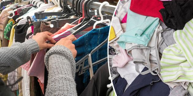 Att tänka på när du skänker kläder till second hand