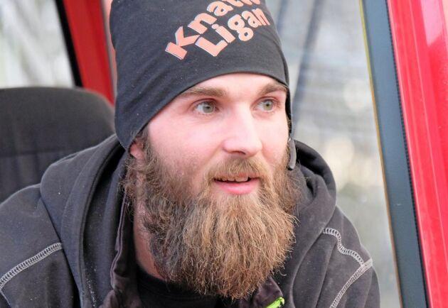 Andreas Bergqvist är en av de fyra förare som valts ut för att köra i den specialanpassade maskingruppen.