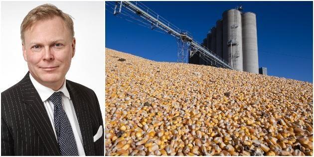 Kurvorna pekar uppåt för jordbruksprodukter