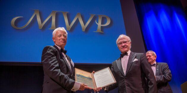 Träforskare fick Marcus Wallenberg-priset