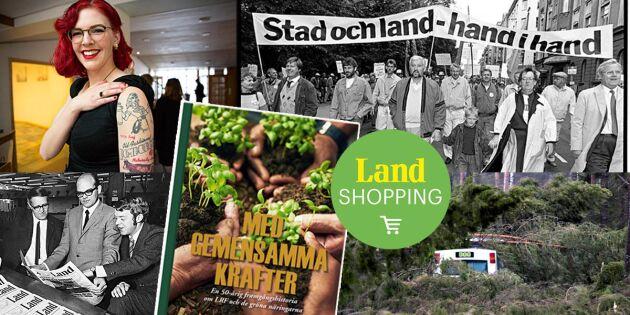 Ny bok! Besluten och striderna som format svenska bonderörelsen
