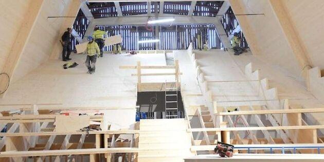 Utbildning i träbyggande möter byggbranschens behov