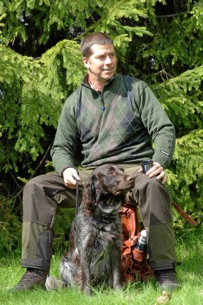 Tillsammans med hunden är du aldrig ensam och jakten blir dessutom mycket roligare.