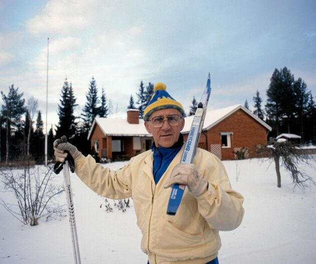Sixten Jernberg, 1929-2012, räknas som en av Sveriges främsta idrottsmän genom tiderna.