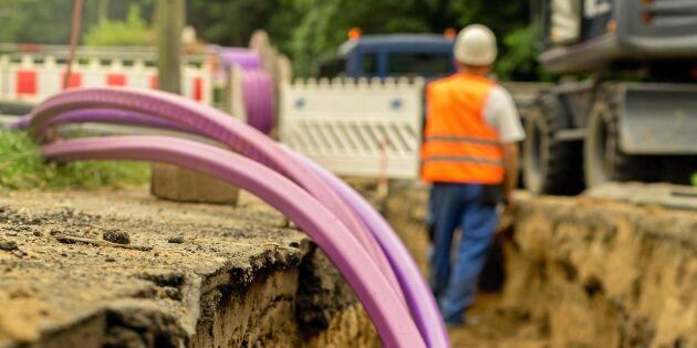 Trafikverket: Nya regler ska underlätta för bredband på landet