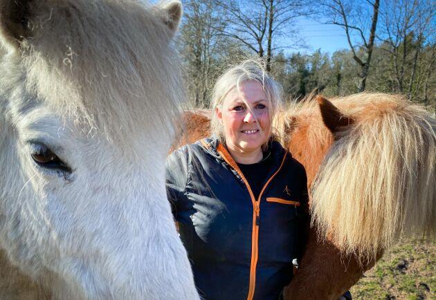Camilla Skógarnes är hästföretagare i Brösarp i Skåne och driver även Bed and Breakfast på gården.