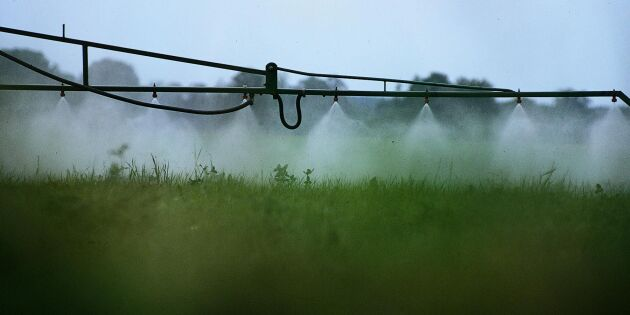 Förbjuds att använda växtskyddsmedel