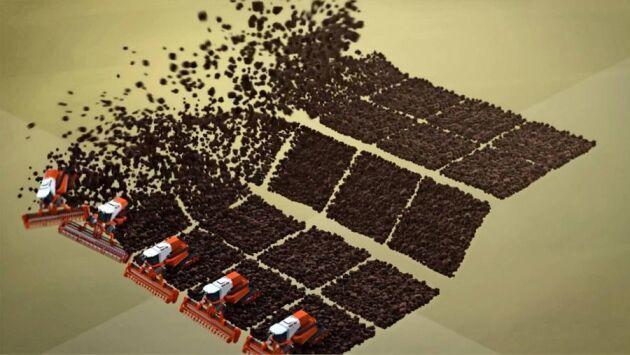 Filmen visar bland annat hur världen varje år förlorar 3,4 ton matjord per människa på grund av bebyggelse, avskogning och olämpliga brukningsmetoder.